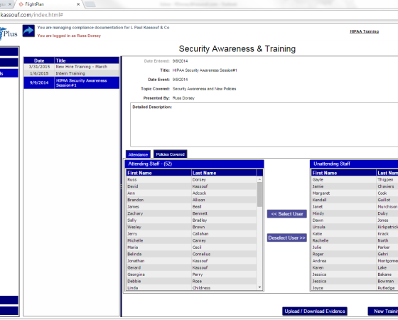 Plan and Track Security Awareness & Training